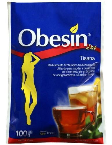 obesin diet - adelgazante - pack x 6 uds de 100g