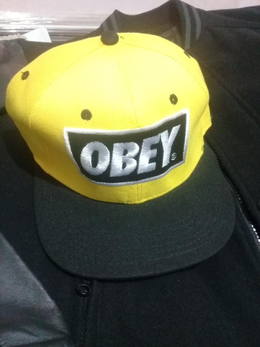 Gorra obey snapback unitalla de broche moda swag rap hip hop jpg 900x1200 Obey  gorras de 9f2d03366e3