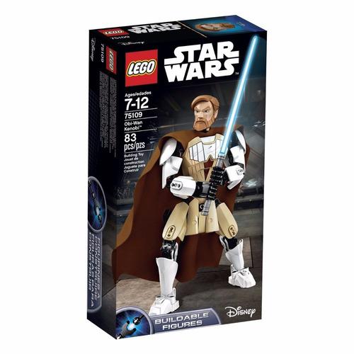 obi-wan kenobi: figura articulada lego star wars