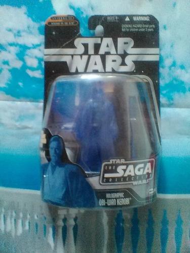 obi wan kenobi holographic star war saga collection trabucle