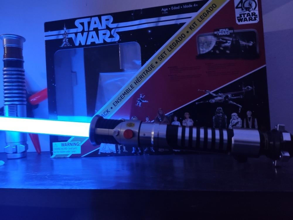Star Wars The Black Series sabre laser 1//1 Force FX Lightsaber Obi-Wan Kenobi 09