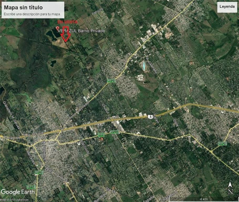 obispo colombres 100 - villa rosa - terrenos/fracciones/loteos terrenos - venta