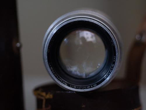 objetiva mount leica m steinheil 85mm f2.8 culminar