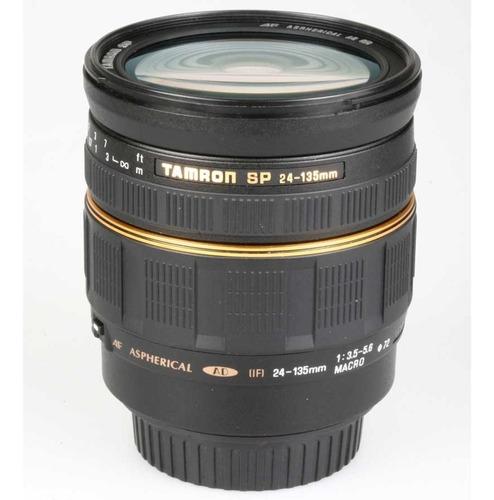 objetiva tamron af 24-135mm f3.5-5.6 macro sp ad  if canon