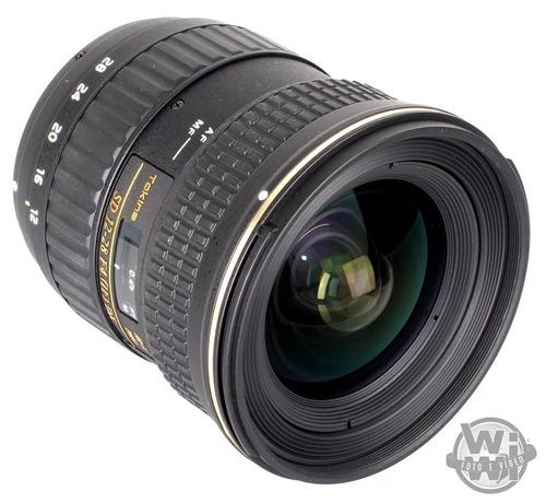 objetiva tokina af 12-24mm f: 4 at-x pro dx ii (nikon)