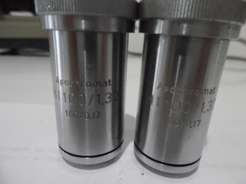 objetivas apocromáticas para microscópio, 100x