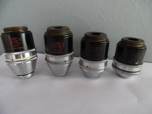objetivas para microscópio de polarização, marca zeiss