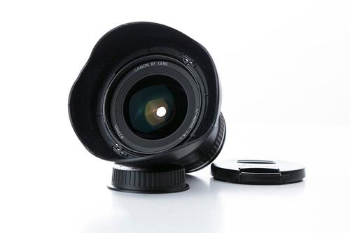 objetivo canon 17-40 mm f4 l is usm gran angular excelente