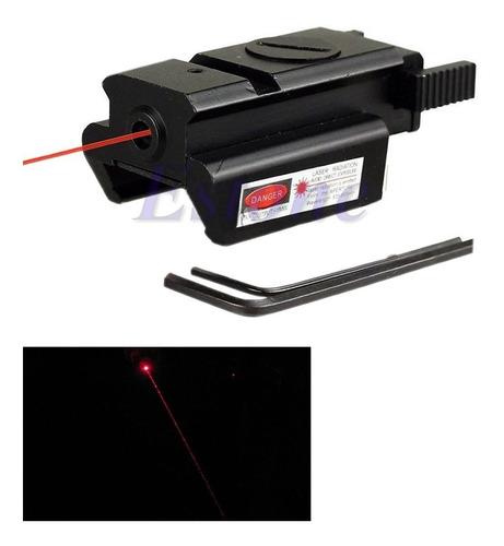 objetivo laser para pistola o arma de fuego