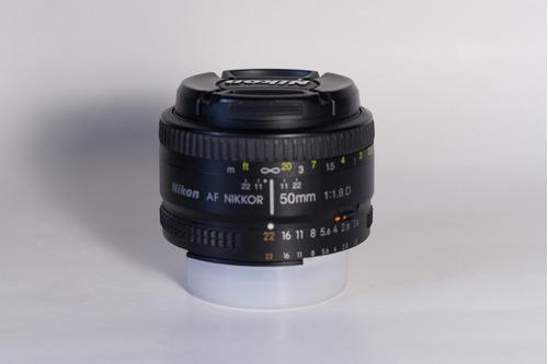 objetivo nikor 50mm f/1.8