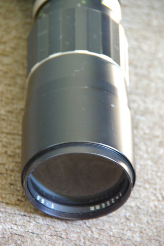 objetivo rosca pentax de 350 mm manual buen estado japan.