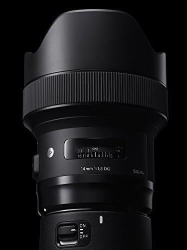 objetivo sigma 14 mm f / 1.8 art dg hsm (para camaras canon