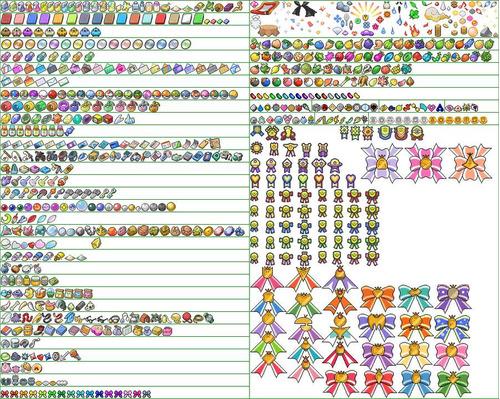 objetos pokémon