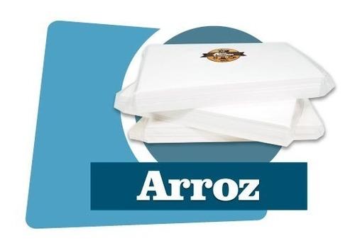 obleas de arroz paquete con 100 piezas para impresión