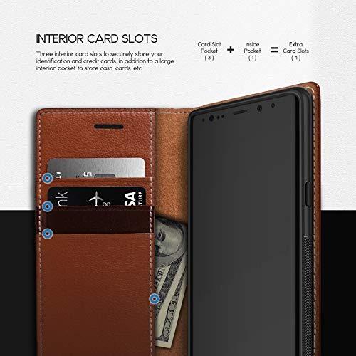 the latest af982 1458c Obliq Note 9 Case, [k3 Wallet] Flip Cover Wallet Case With 4