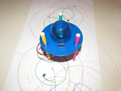 obni, robot dibujante - simple robot día del niño