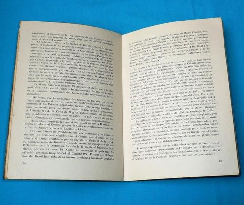 obra comité jurídico interamerican josé joaquín caicedo 1966