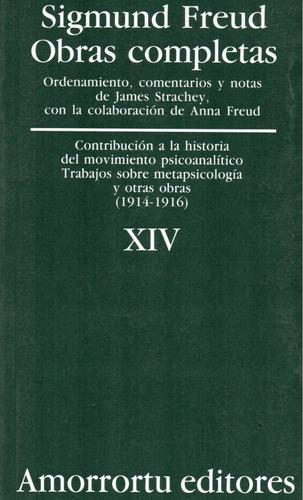 obra completa sigmund freud xiv contribución historia (am)