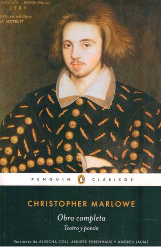obra completa. teatro y poesia - marlowe, christopher