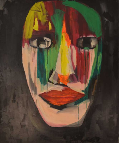 obra cuadro arte abstracto  moderno decoracion orig oleo