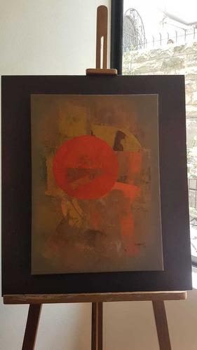 obra de arte s/t del maestro patricio bermeo 2008 (37x51cm)