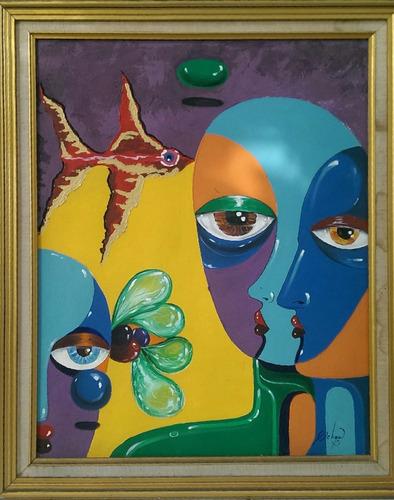 obra del laureado pintor victor ochoa