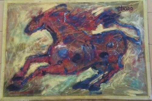 obra el caballo del maestro antonio otazzo