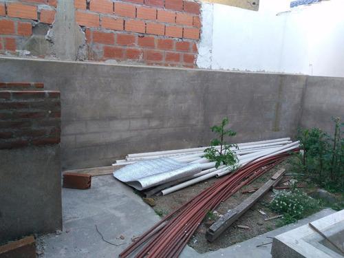 obra en construcción sobre calle 3 n° 5468