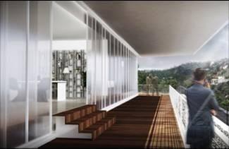 obra gris,  piso 13 al 17 con 1,017 m2  por planta centrot2