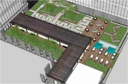 obra gris, piso 4  al  7 con 2937  m2 paseoampl
