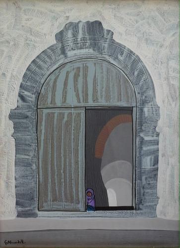 obra original el portón, gilberto almeida