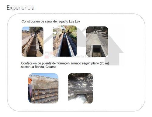 obras civiles, estructuras, movimientos de tierra y otros