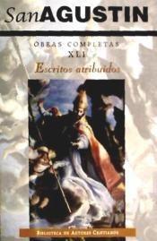 obras completas de san agustín. xli: escritos atribuidos(lib