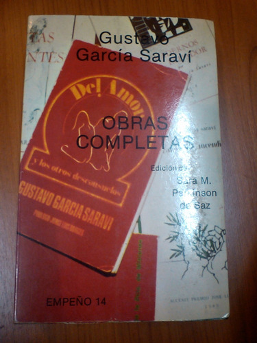 obras completas- gustavo garcìa saravì