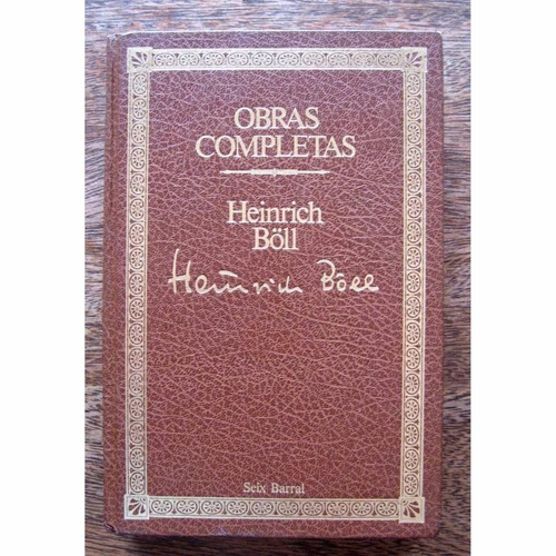 obras completas tomo 1 - heinrich boll