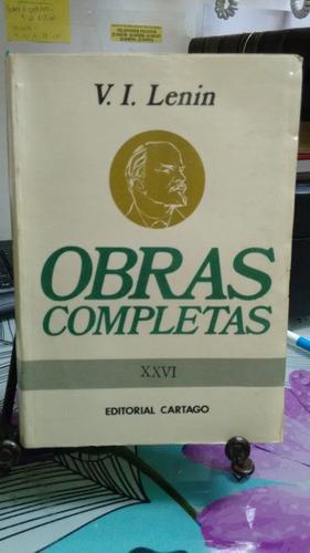 obras completas tomo xxvi // v.i. lenin