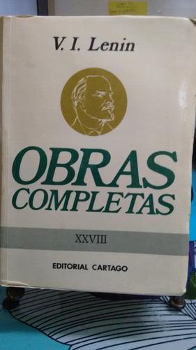 obras completas tomo xxviii // v.i. lenin