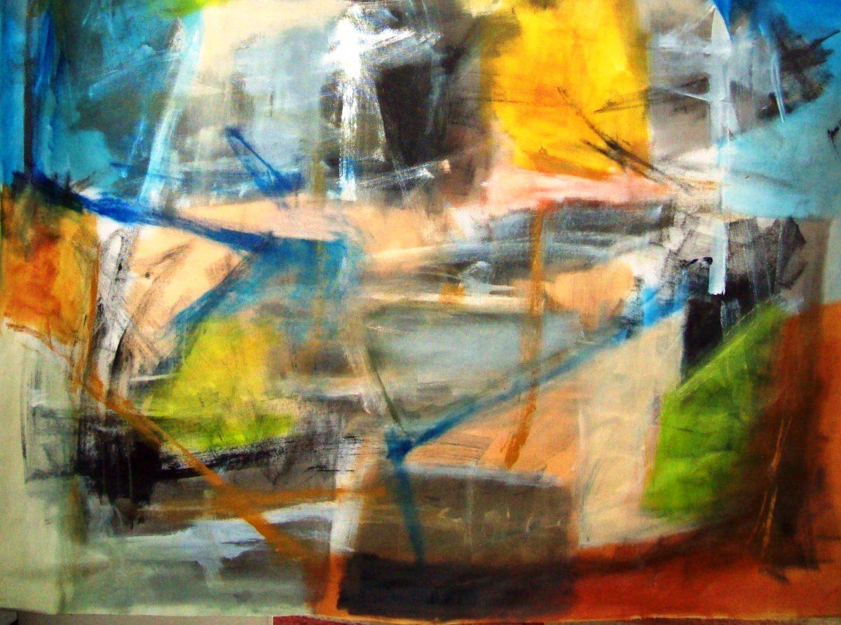 Obras de arte abstratas