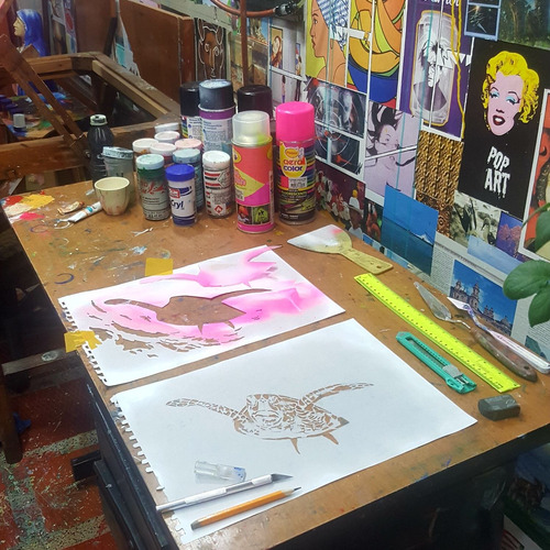 obras de arte.pinturas al óleo,acuarela,aerografo.