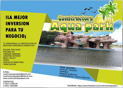 obras de ingenieria civil - balnearios acuaticos