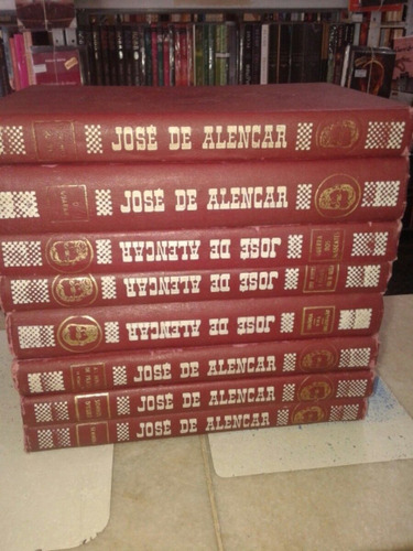 obras de josé de alencar 8 volumes