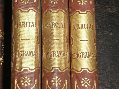obras de marco vlerio marcialepigramas