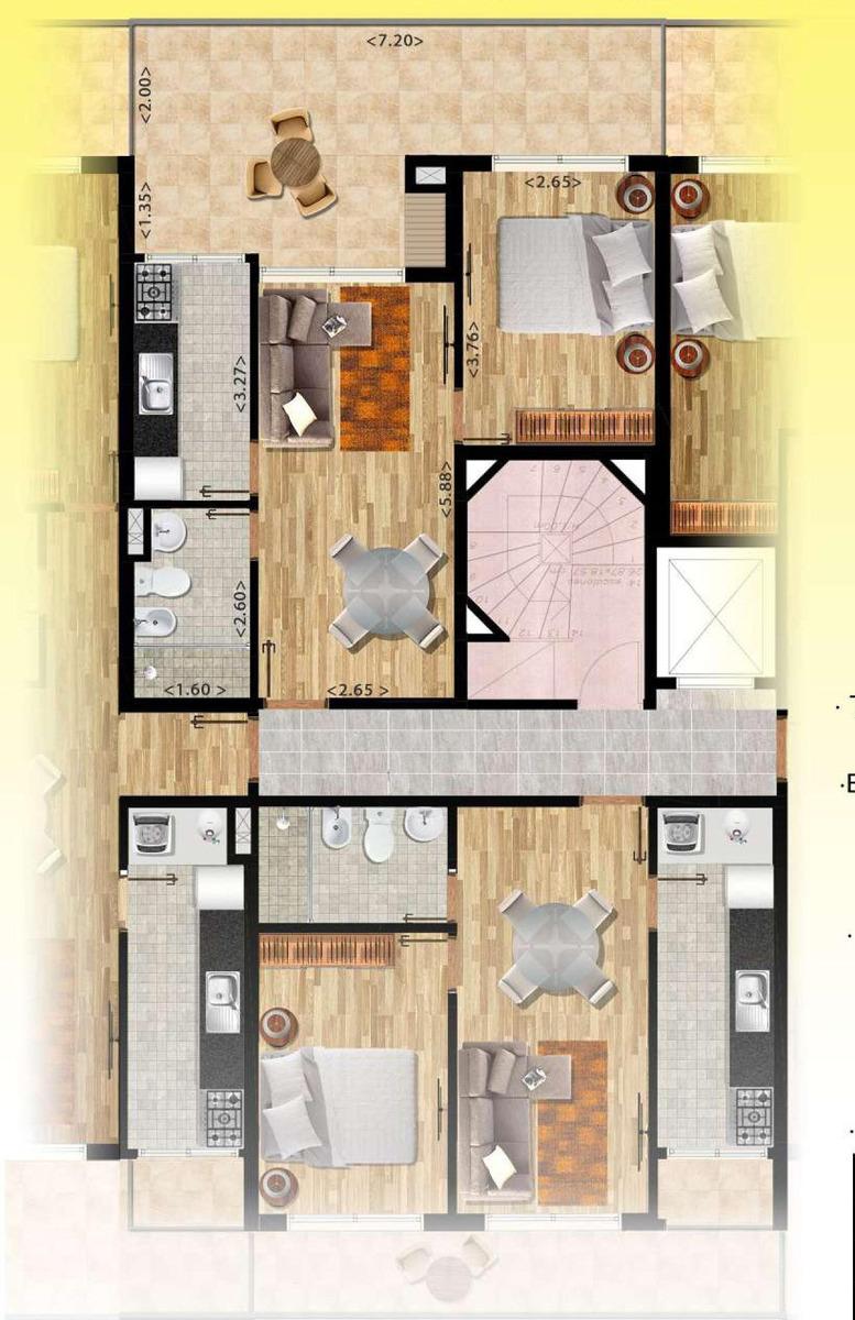obras en construcción venta 1 dormitorio pocitos