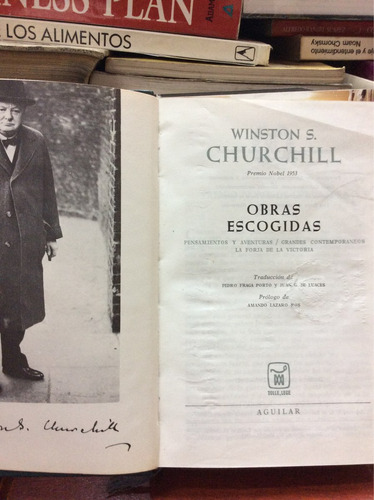 obras escogidas - winston s. churchill
