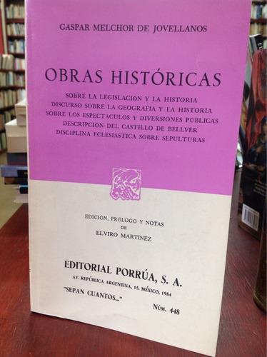 obras históricas de gaspar melchor de jovellanos