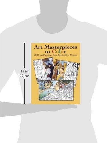 Obras Maestras Del Arte Para Colorear 60 Grandes Pinturas De ...