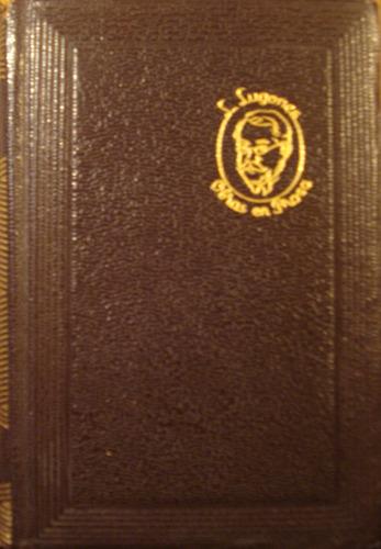 obras poeticas, de leopoldo lugones - aguilar