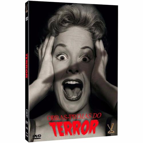 obras-primas do terror - box com 3 dvds - christopher lee