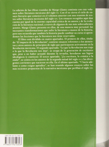 obras reunidas iv ensayos sobre literatura mexicana