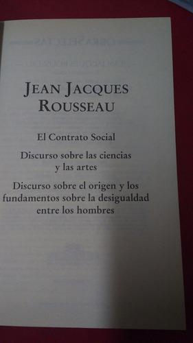 obras selectas jean jacques rousseau
